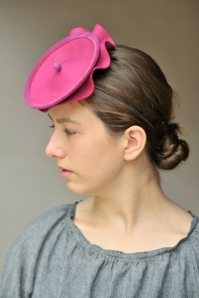 Pink Saucer Hat photo: Zane Williams
