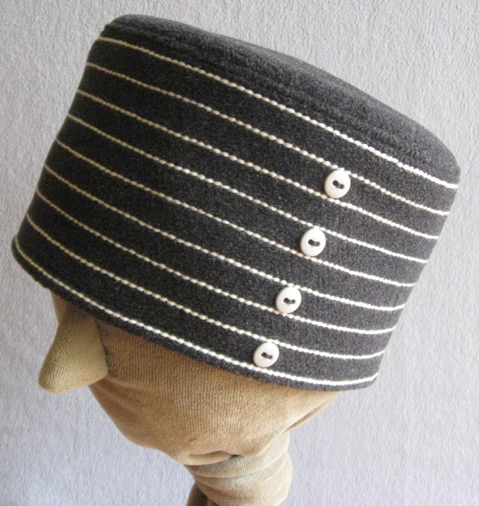 22. Stripy Toque.  medium  $58.