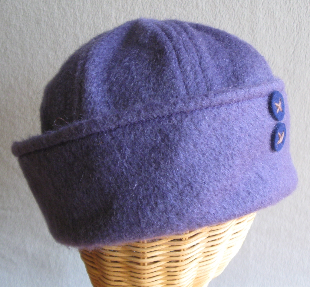 14. Blueberry Mohair Sailor.  medium  $75.