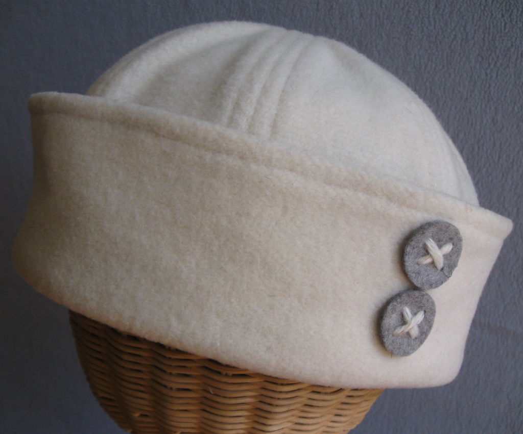 45. Winter White Sailor.  large,medium  $75.