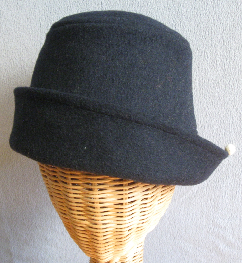 63.  Black Wool Pepito. small  $72.