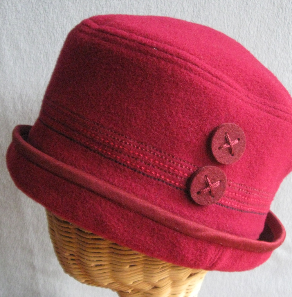 76. Cranberry Cloche. medium  $68.
